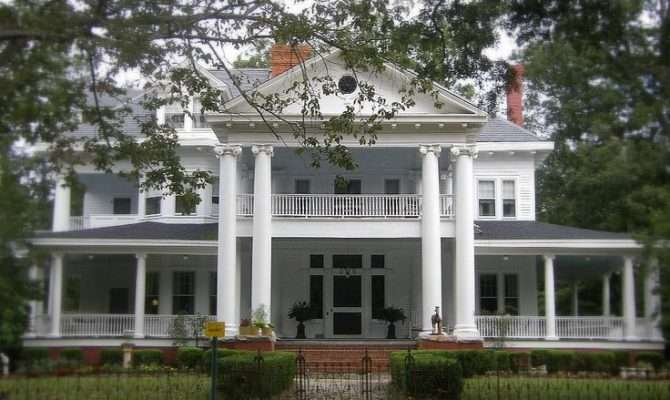 Southern House Plantation Homes Pinterest
