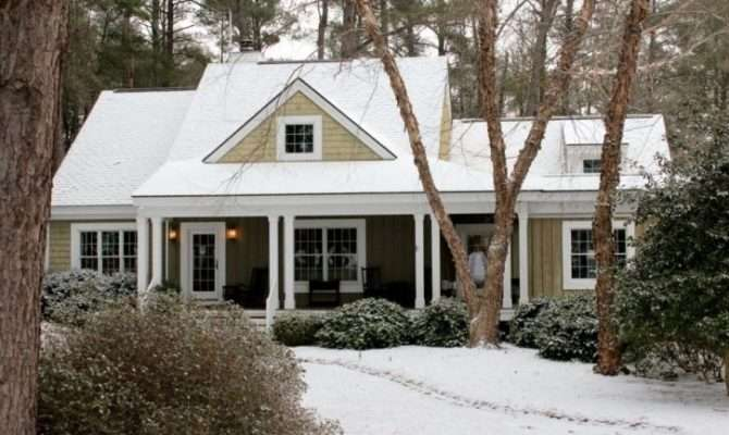 Southern Living Lakeside Cottage Plan Snow House
