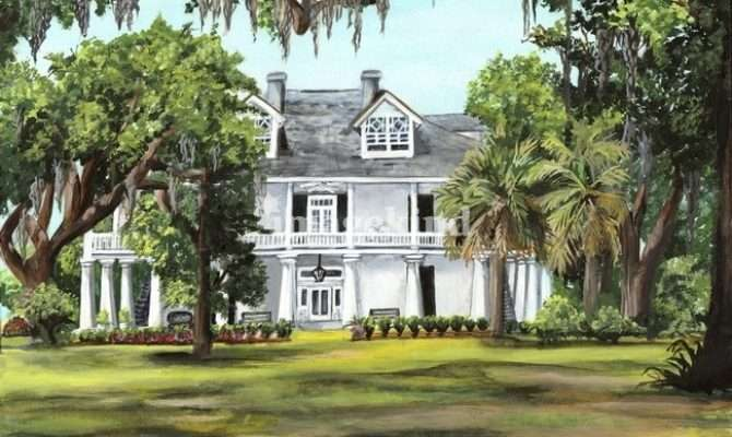 Southern Plantation Home Plantations Pinterest