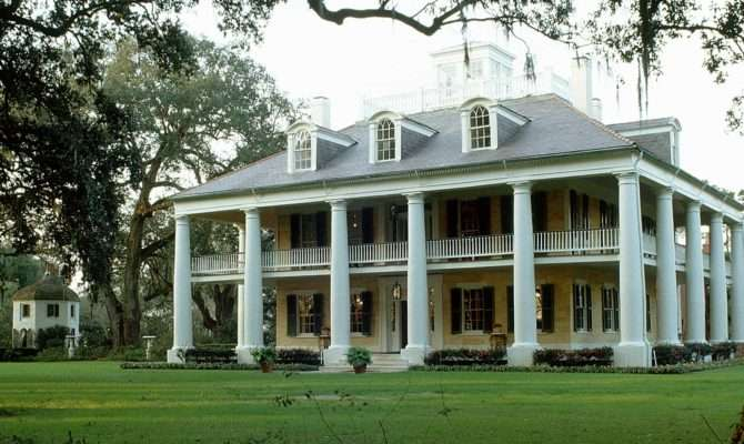 Southern Plantation Homes Antebellum House Plans Hecho