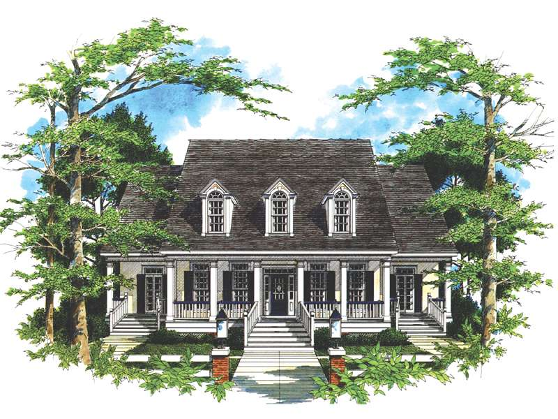 Southern Plantation House Plans Eplans