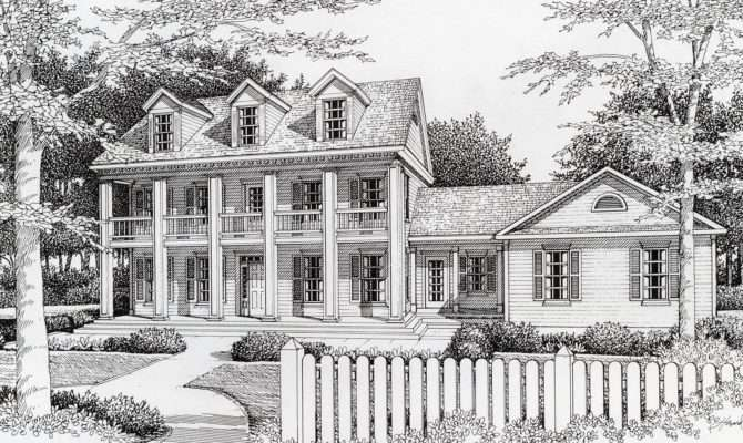Southern Plantation Style Architectural