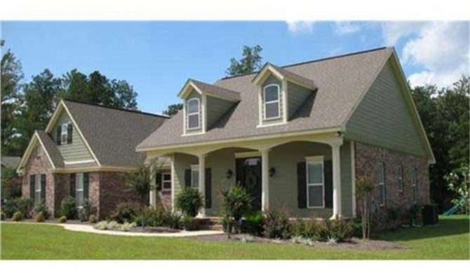 Southern Style House Plans Porches French Country