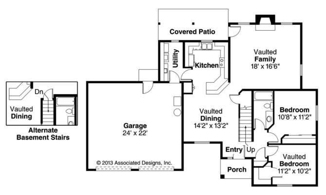 Southwest House Plan Siena Floor