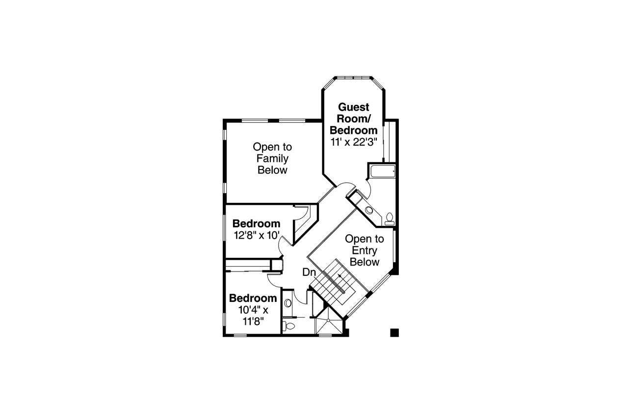 Southwest House Plan Southaven Floor