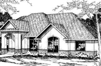 Southwest House Plans Barstow Associated Designs
