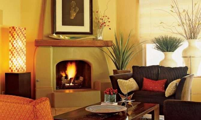 Southwestern Living Room Warmth Charm Hgtv
