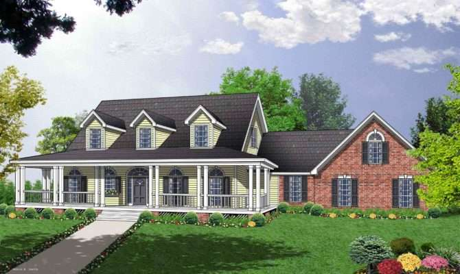 Spacious Custom Cape Cod House Plan Sdl Homes