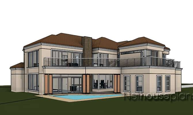 Spacious Double Storey Bedroom House Plans