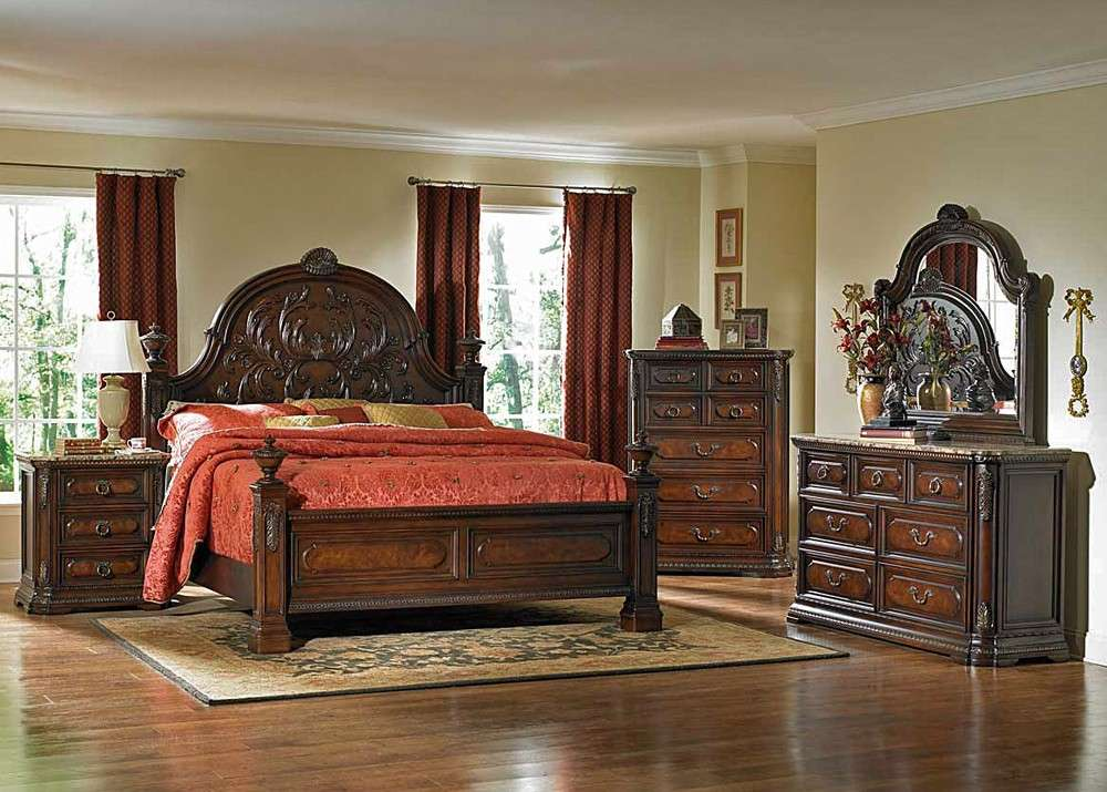 Spanish Bay Traditional Style Bedroom Set