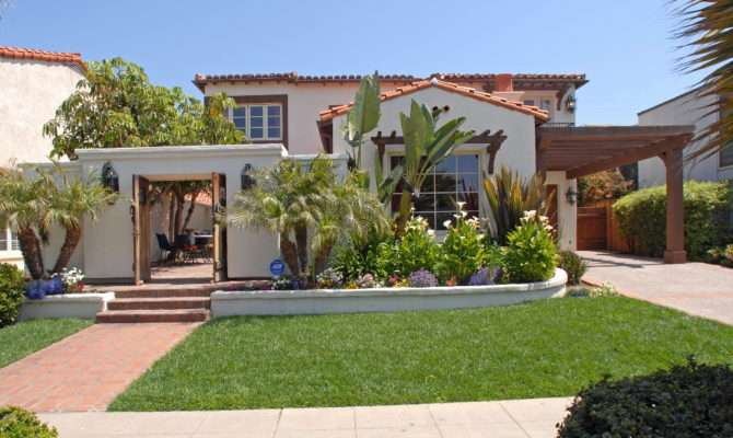 Spanish Colonial House Plans Courtyard Plan