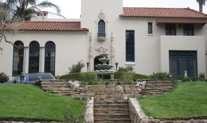 Spanish Colonial Residential Architecture Old California