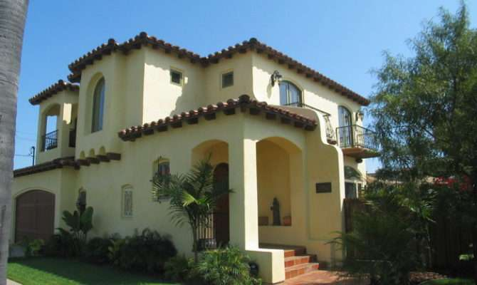 Spanish Colonial Style Homes Mediterranean Exterior