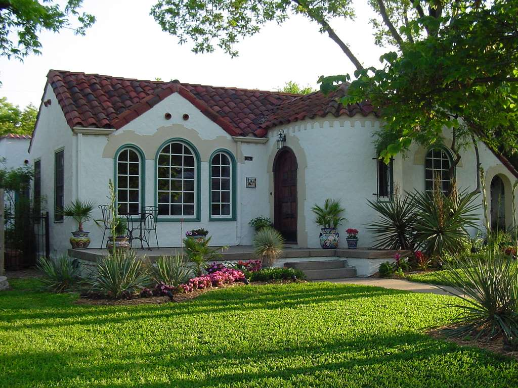 Spanish Colonial Style House