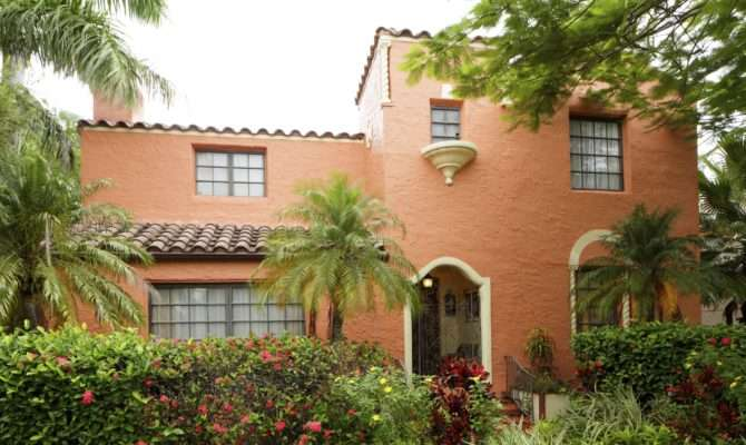 Spanish Home Style Decorations Exteriors Homes