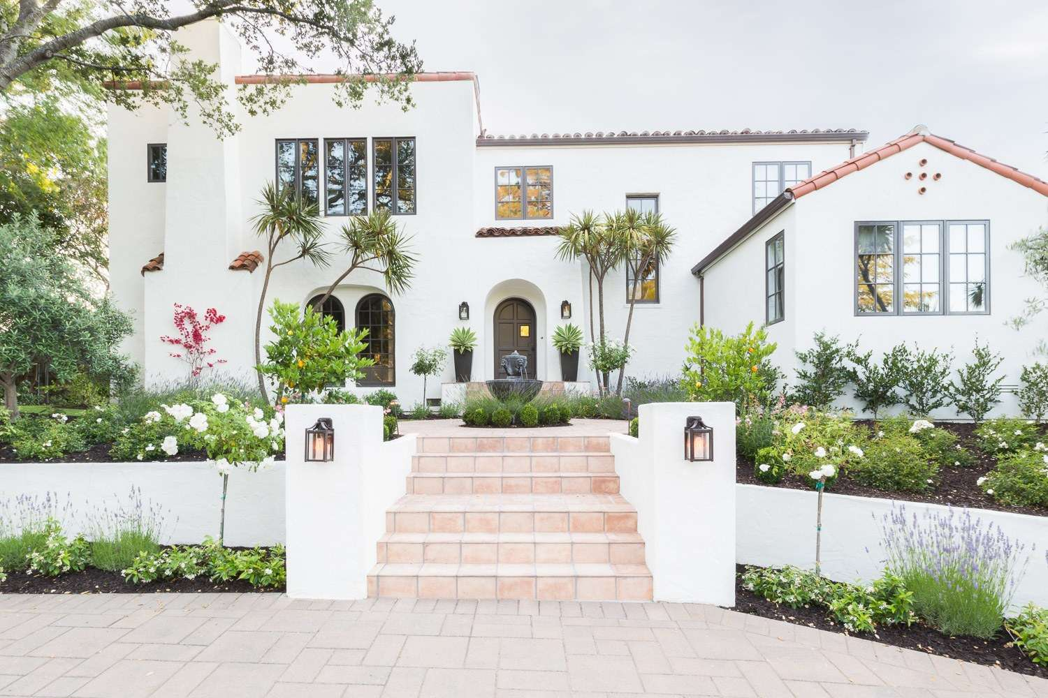 Spanish Revival Home Neglected Exterior Gets Modern