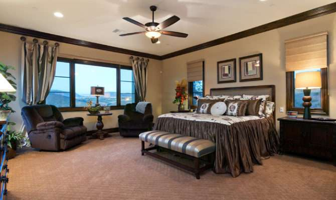Spanish Style Estate Master Bedroom Traditional