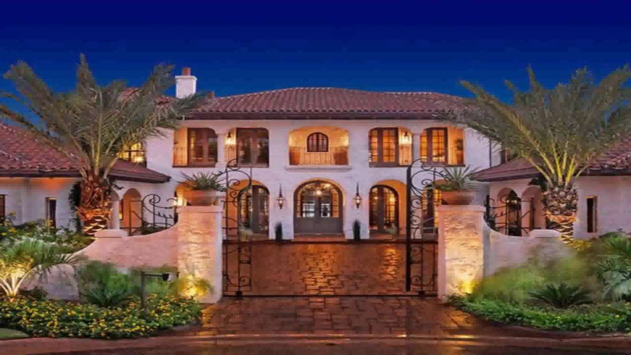 Spanish Style Hacienda House Plans Youtube