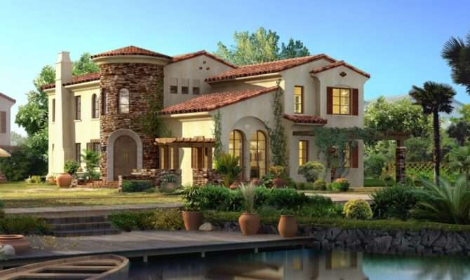 Spanish Style Home High Quality