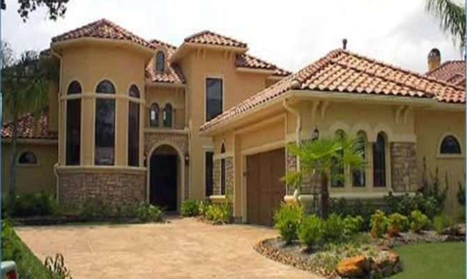 Spanish Style House Plans Bungalow