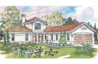 Spanish Style House Plans Grandeza Associated Designs
