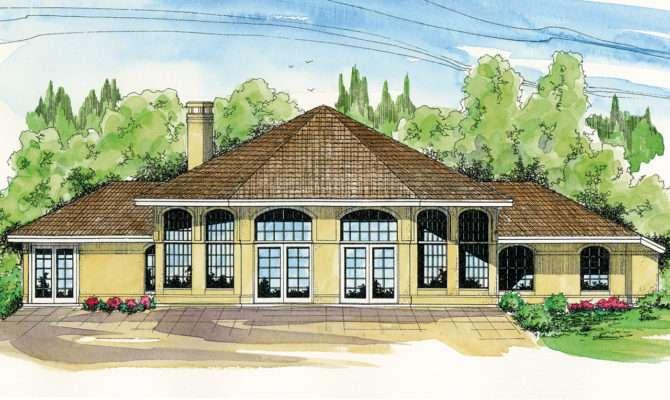 Spanish Style House Plans Santa Ana Associated