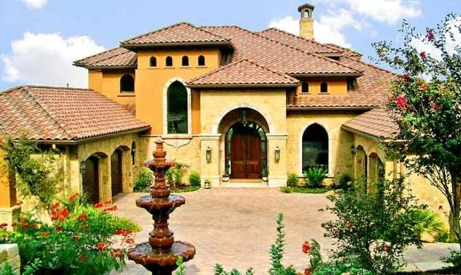 Spanish Style Residential Architecture