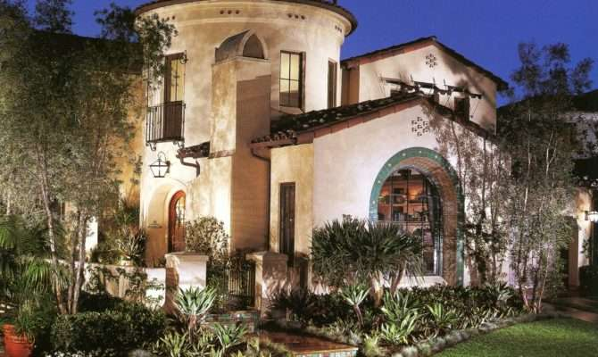 Spanish Villa Love Colonial Style Homes Pinterest