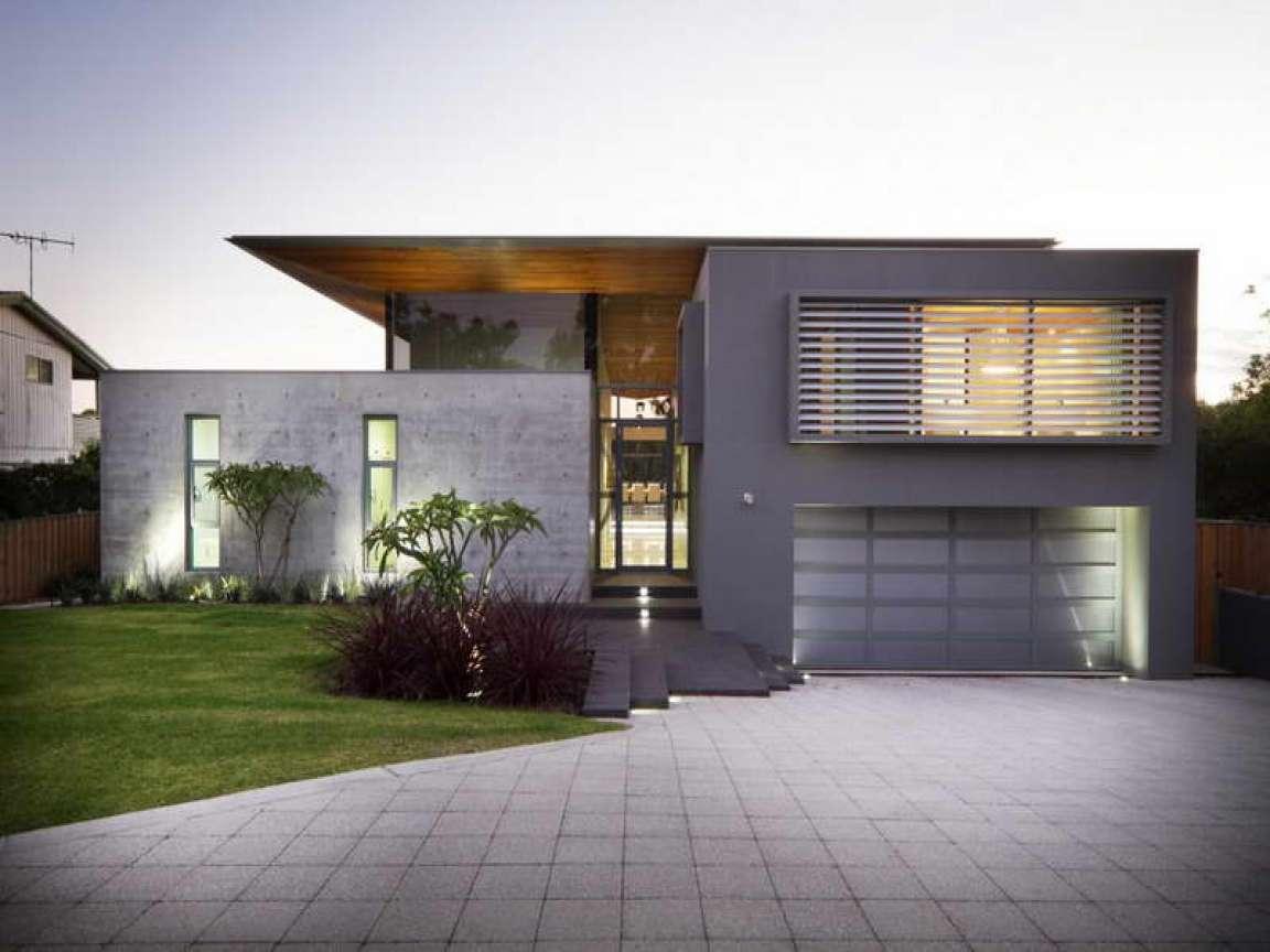 Spectacular Modern Concrete Block House Plans