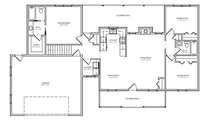 Spectacular Ranch House Plans Loft