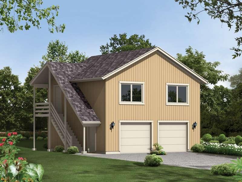 Spencer Park Western Garage Plan House Plans