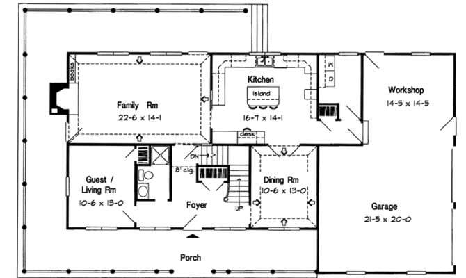Spielberg Early American Home Plan House Plans More