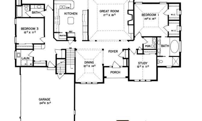 Split Bedroom Ranch House Plans Real Estate