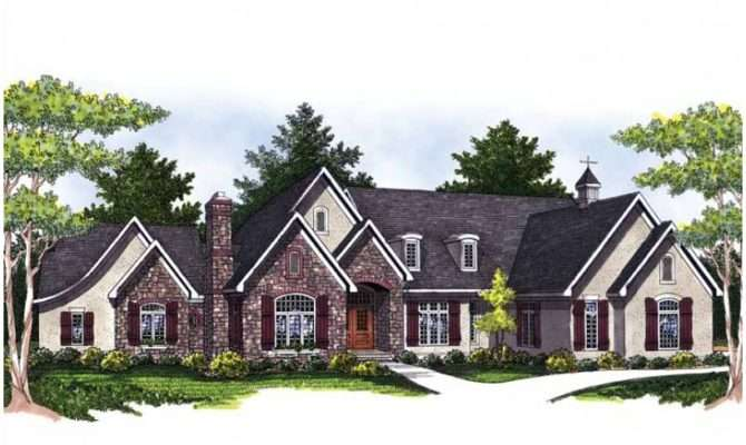 Sprawling Ranch Hwbdo Builderhouseplans