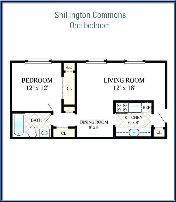 Sqft Bedroom Apartment Floor Plan