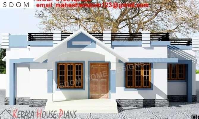 Sqft Small Budget Kerala House Design Elevation