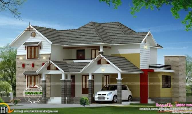 Square Feet Bedroom Home Kerala Design