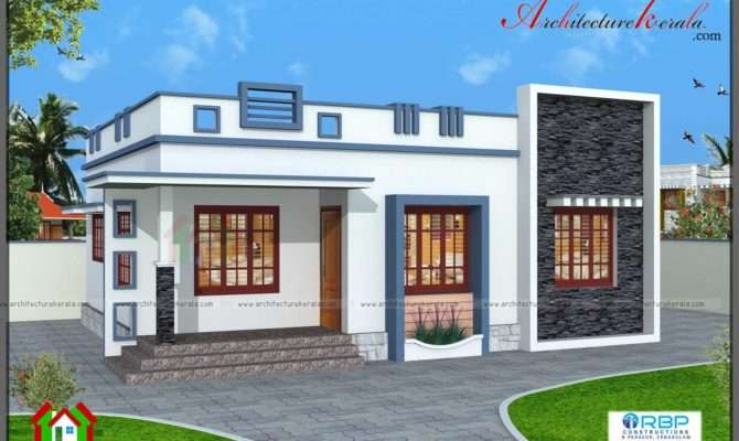 Square Feet Bedroom House Plan Architecture Kerala