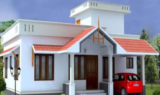 Square Feet Bedroom Kerala Low Budget Home Design
