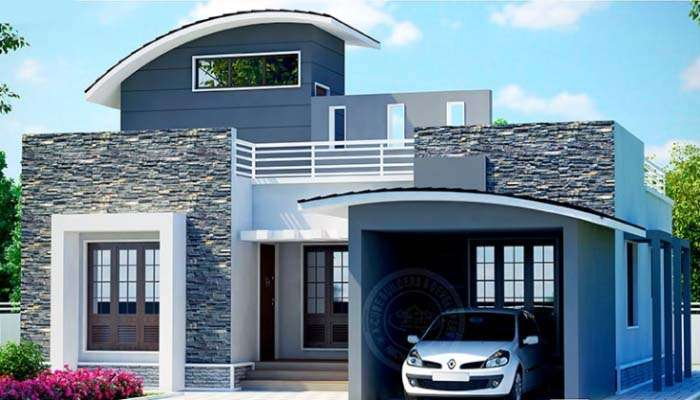 Square Feet Bedroom Low Budget Home Design Plan