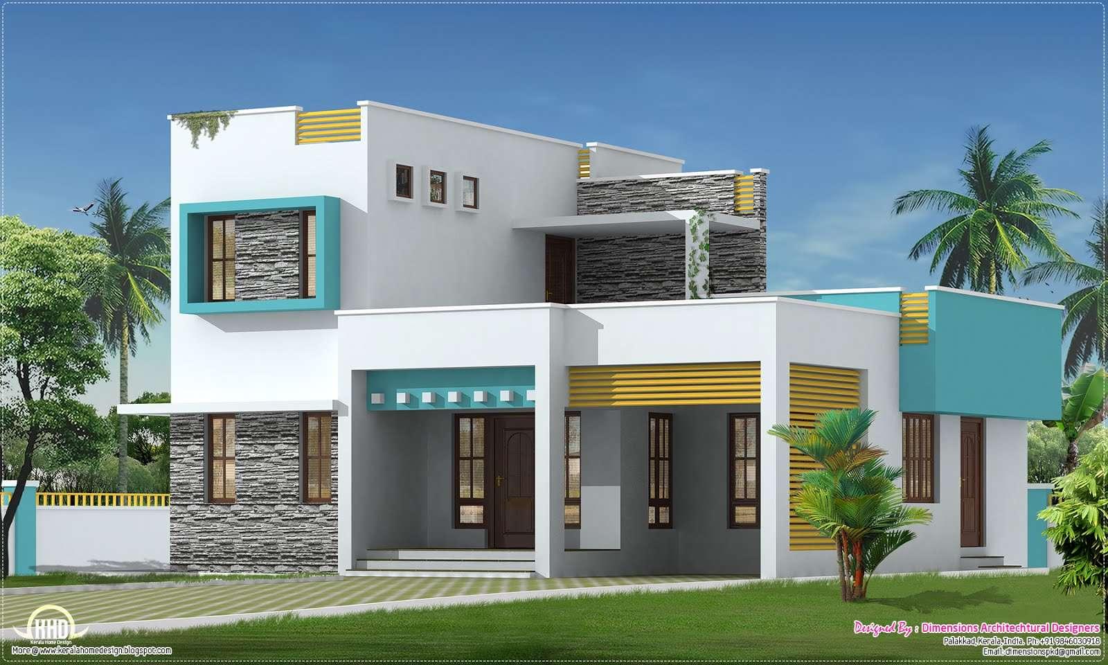 Square Feet Bedroom Villa Kerala Home Design Floor Plans