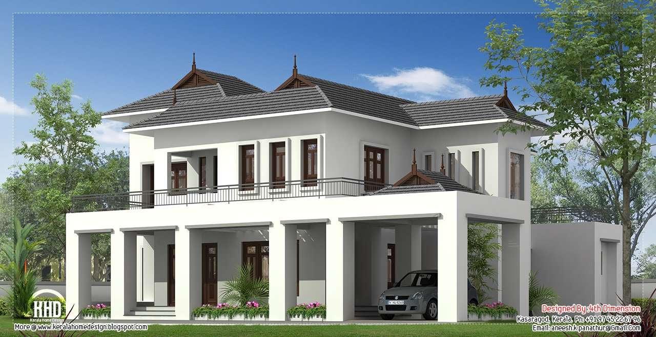 Square Feet House Elevation Design Plans