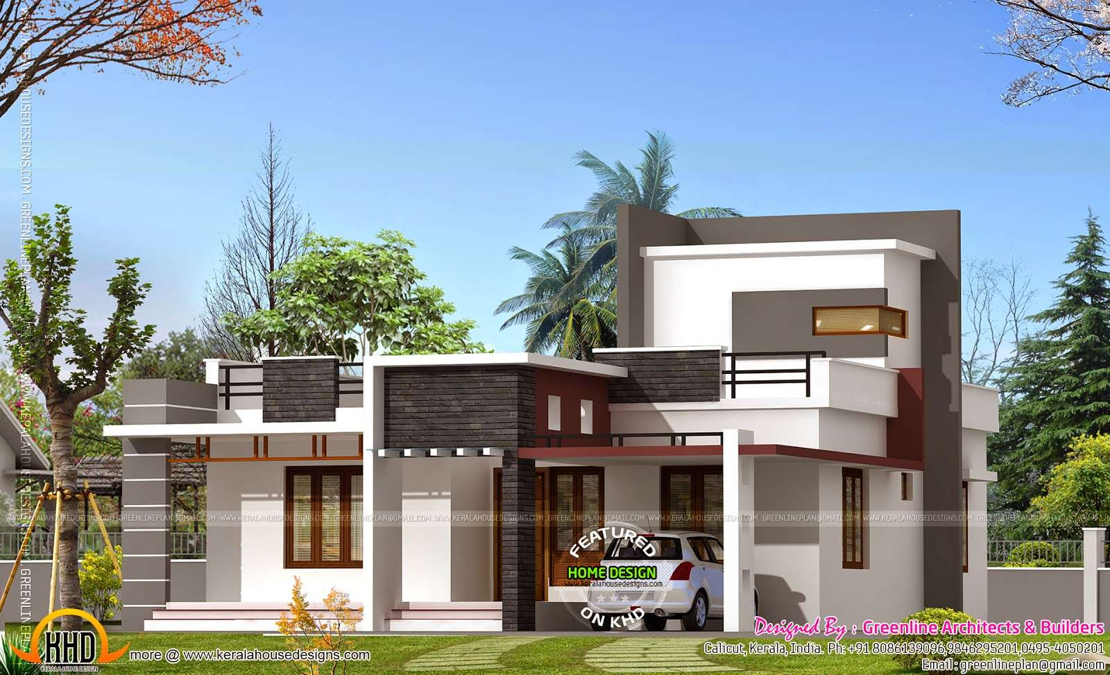 Square Feet House Kerala Home Design Floor Plans