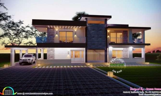 Square Feet House Plan Elevation Kerala Home