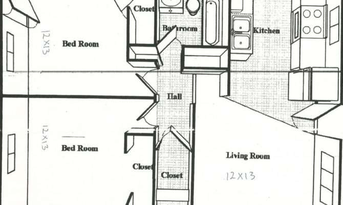 Square Feet House Plans Apartment Floor Plan