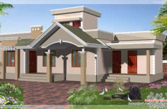 Square Feet One Floor Budget House Design Plans