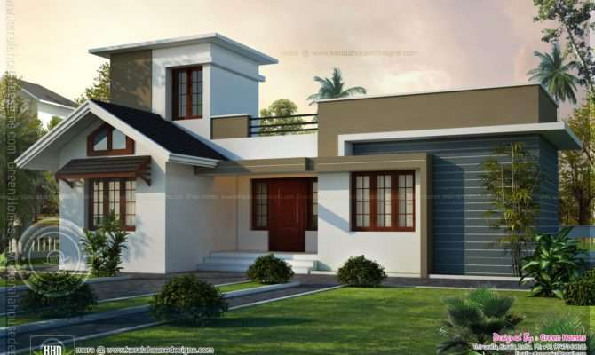 Square Feet Small House Design Kerala Home