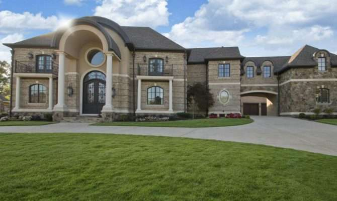 Square Foot Brick Stone Mansion Little Rock