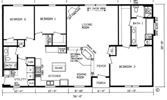 Square Foot Bungalow House Plans Escortsea