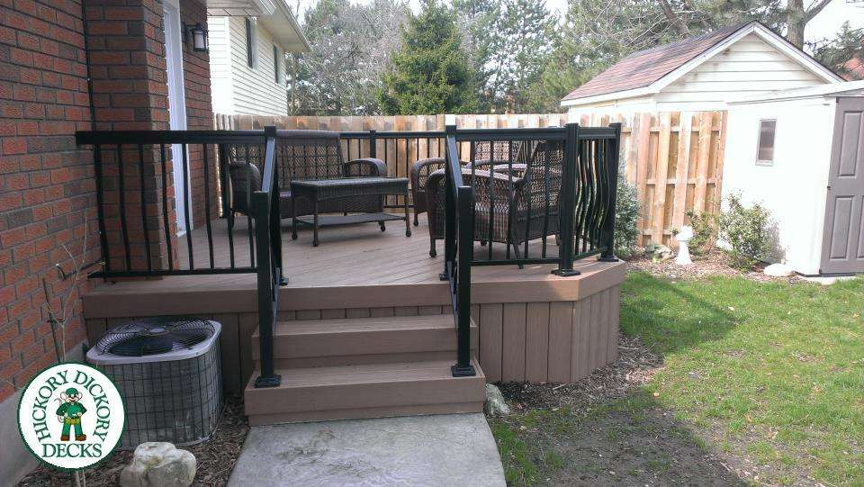 Square Foot Deck Built Catharines